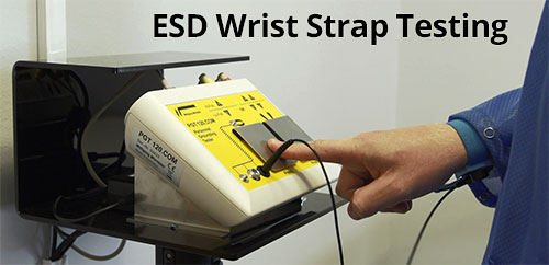 ESD Wrist Strap Testing