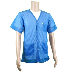 8812 V-Neck Short Sleeve Jacket