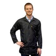 9010-black-esd-jacket-collar-snap-cuff