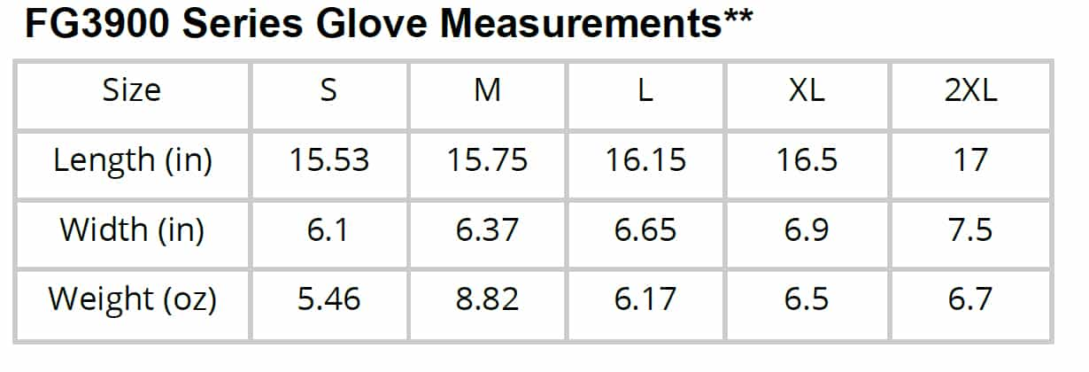 FG3900-glove-size-measurments