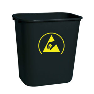 WBAS-28-esd-waste-basket-black-conductive