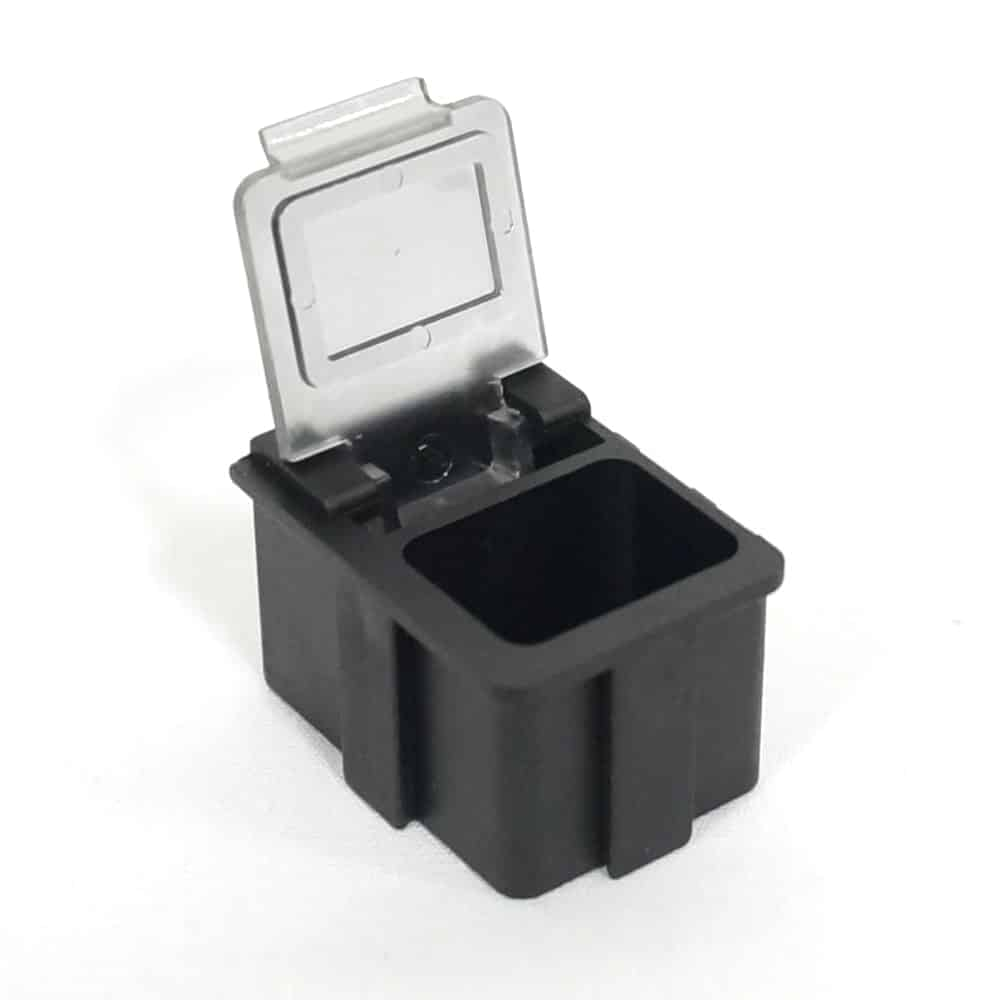 Esd Safe Smd Component Stprage Boxes Conductive Plastic