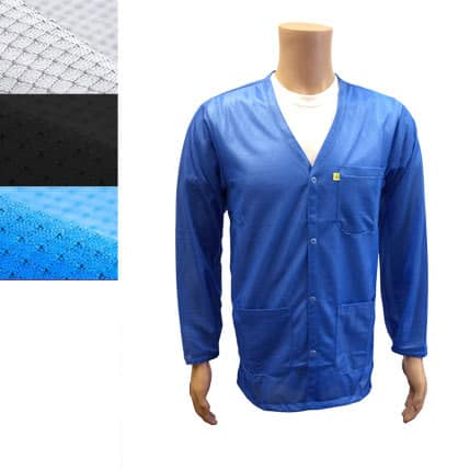 9010-all-colors-esd-jacket-v-neck-snap-cuff-model-blue