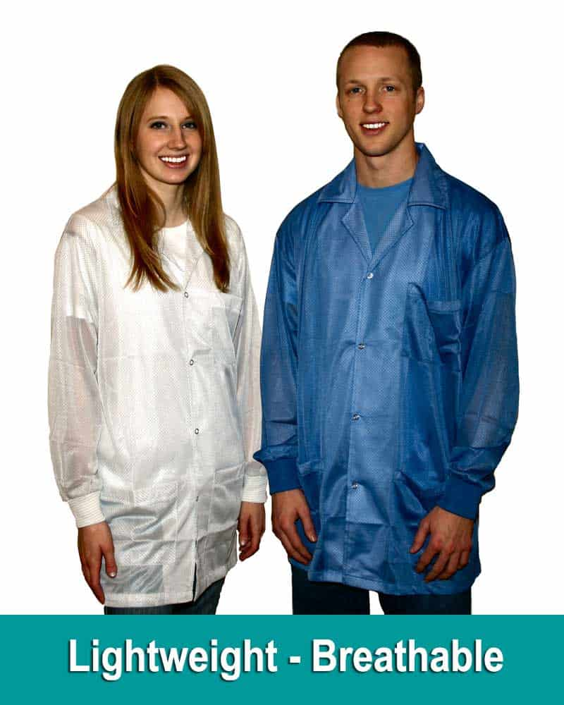 Light Weight Breathable ESD Jacket