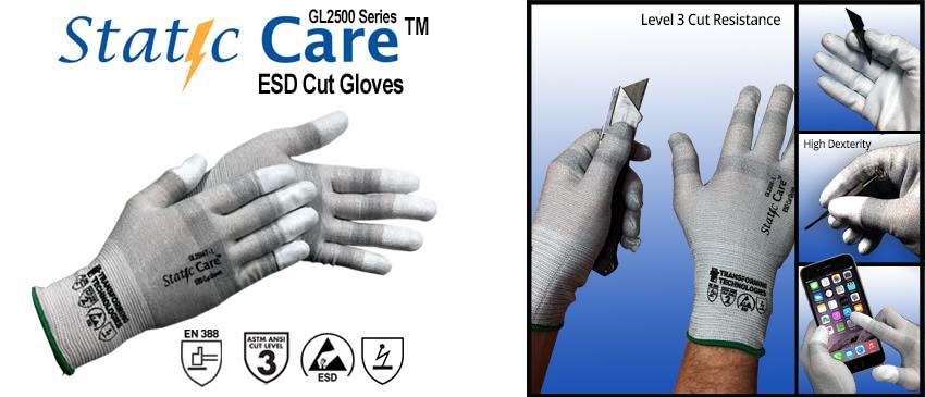 gl2500 StaticCare Cust Resistant Gloves