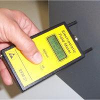 EFM115-electrostatic-field-meter-in-use
