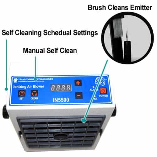IN5500 Self Cleaning Ionizer
