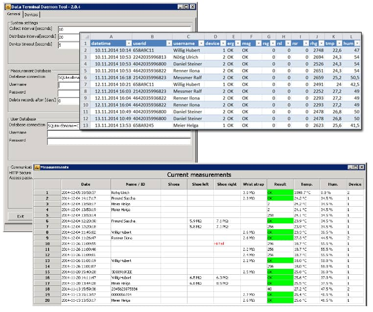 PGT120 Reporting Software