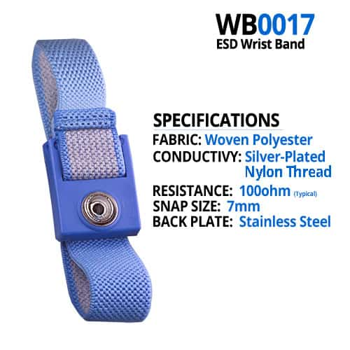 WB0017 Wrist Strap Specifications