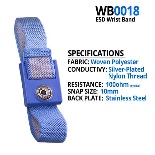 WB0018 Wrist Strap Specifications