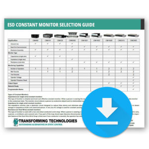 ESD Constant Monitor Guide