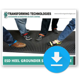 ESD Heel Ground Guide