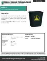 WBAS28-static-dissipative-waste-basket-cover-data-sheet