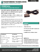 cp2500-series-common-point-ground-cord-data-sheet